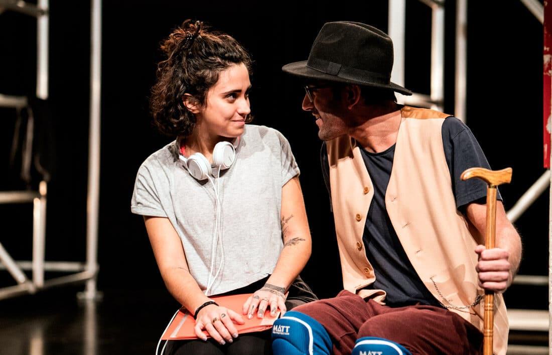 Zhila Azadeh con La Joven Compañía en los Teatros del Canal